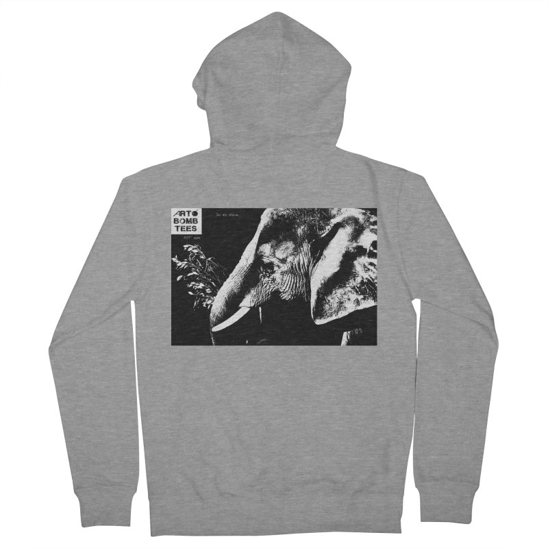 Do No Harm Women's French Terry Zip-Up Hoody by artbombtees's Artist Shop