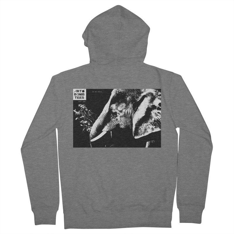 Do No Harm Men's Zip-Up Hoody by artbombtees's Artist Shop