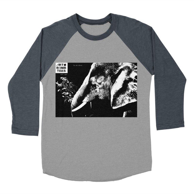 Do No Harm Men's Baseball Triblend Longsleeve T-Shirt by artbombtees's Artist Shop