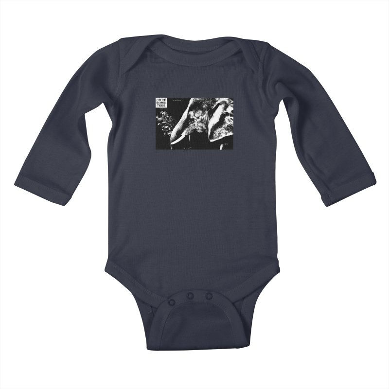Do No Harm Kids Baby Longsleeve Bodysuit by artbombtees's Artist Shop