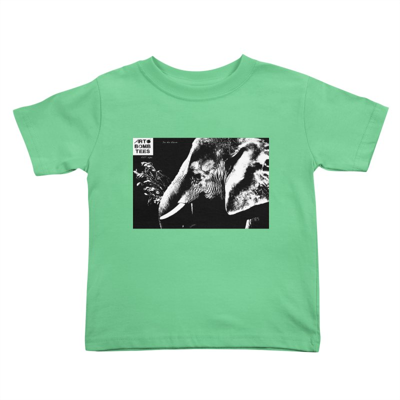 Do No Harm Kids Toddler T-Shirt by artbombtees's Artist Shop