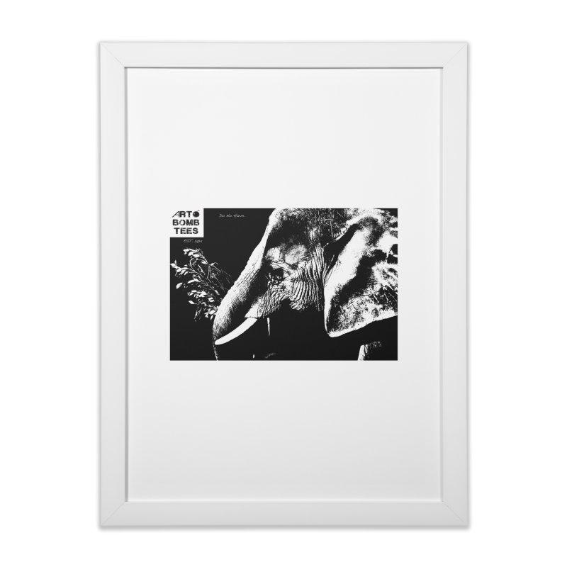 Do No Harm Home Framed Fine Art Print by artbombtees's Artist Shop