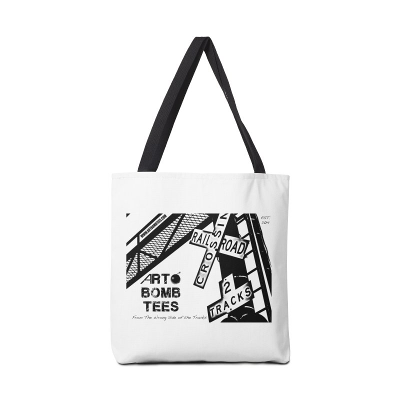 Wrong Side of The Tracks Accessories Bag by artbombtees's Artist Shop