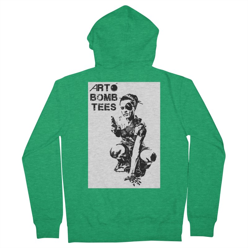 Army of One Women's Zip-Up Hoody by artbombtees's Artist Shop