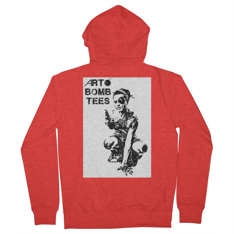 Army of One Men's Zip-Up Hoody by artbombtees's Artist Shop