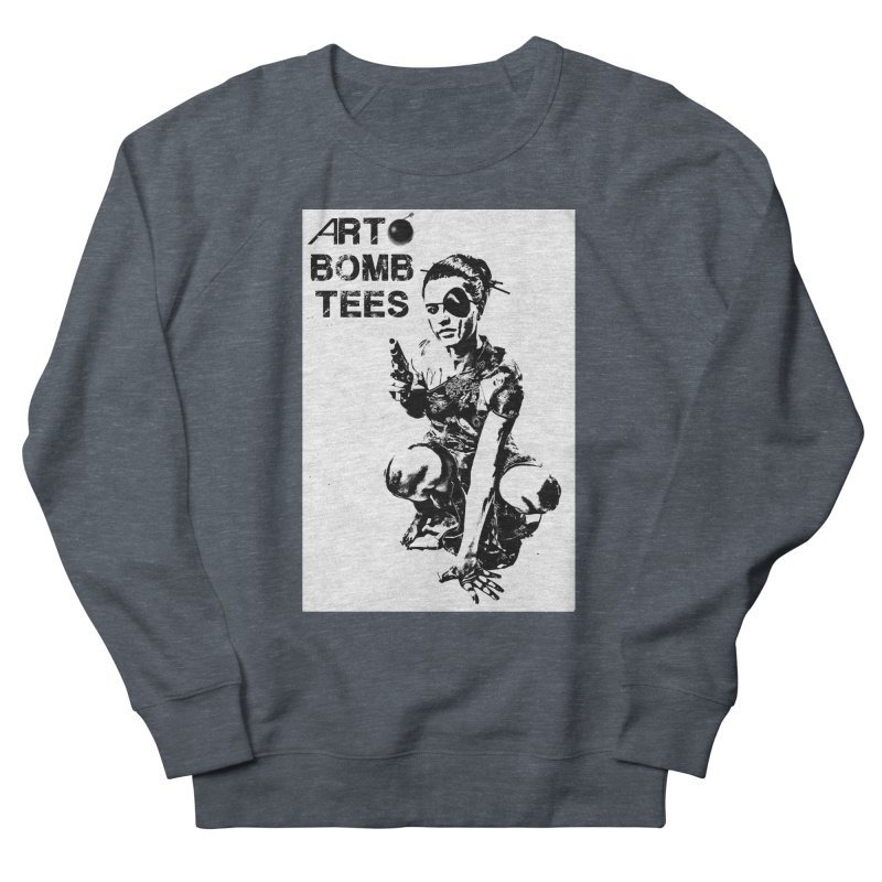 Army of One Women's French Terry Sweatshirt by artbombtees's Artist Shop