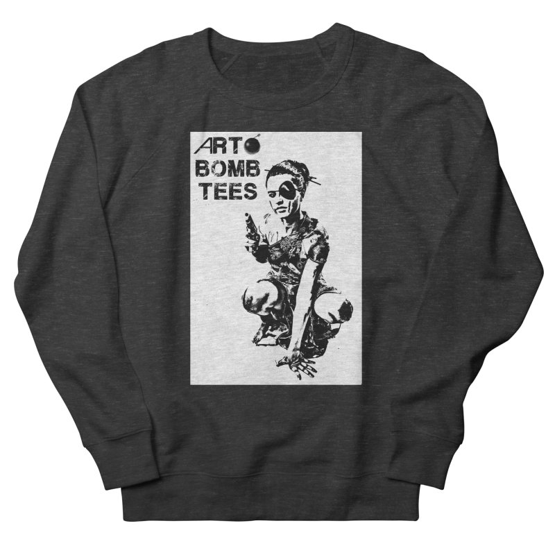 Army of One Men's French Terry Sweatshirt by artbombtees's Artist Shop