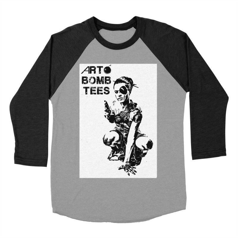 Army of One Women's Baseball Triblend Longsleeve T-Shirt by artbombtees's Artist Shop