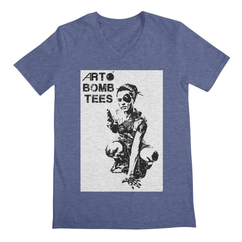Army of One Men's V-Neck by artbombtees's Artist Shop