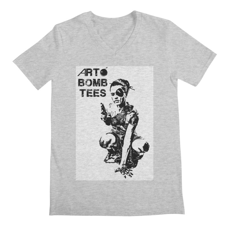 Army of One Men's Regular V-Neck by artbombtees's Artist Shop