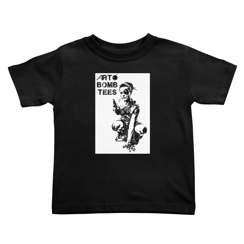 Army of One Kids Toddler T-Shirt by artbombtees's Artist Shop