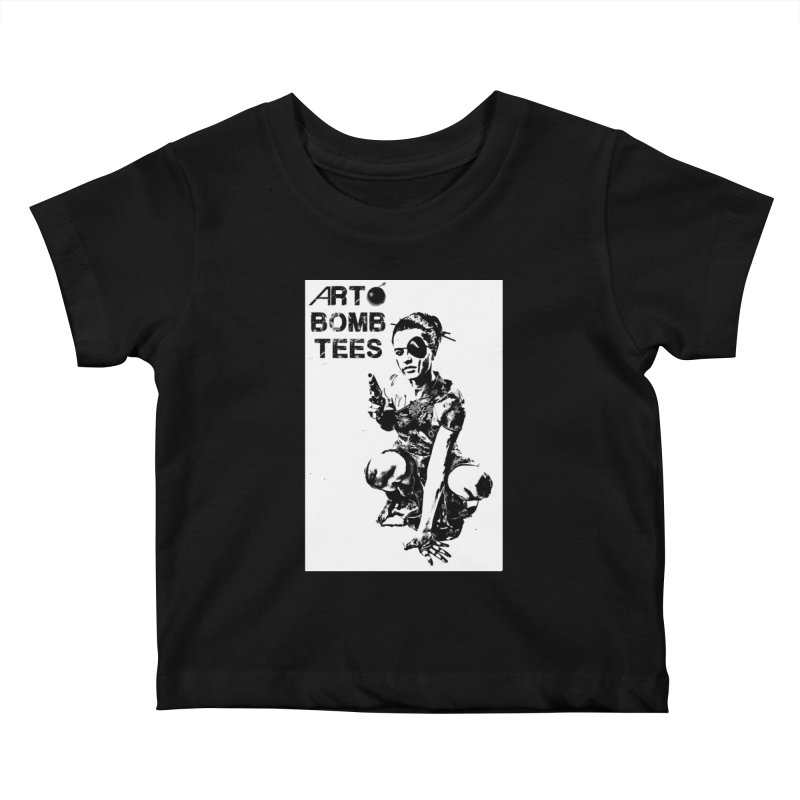 Army of One Kids Baby T-Shirt by artbombtees's Artist Shop