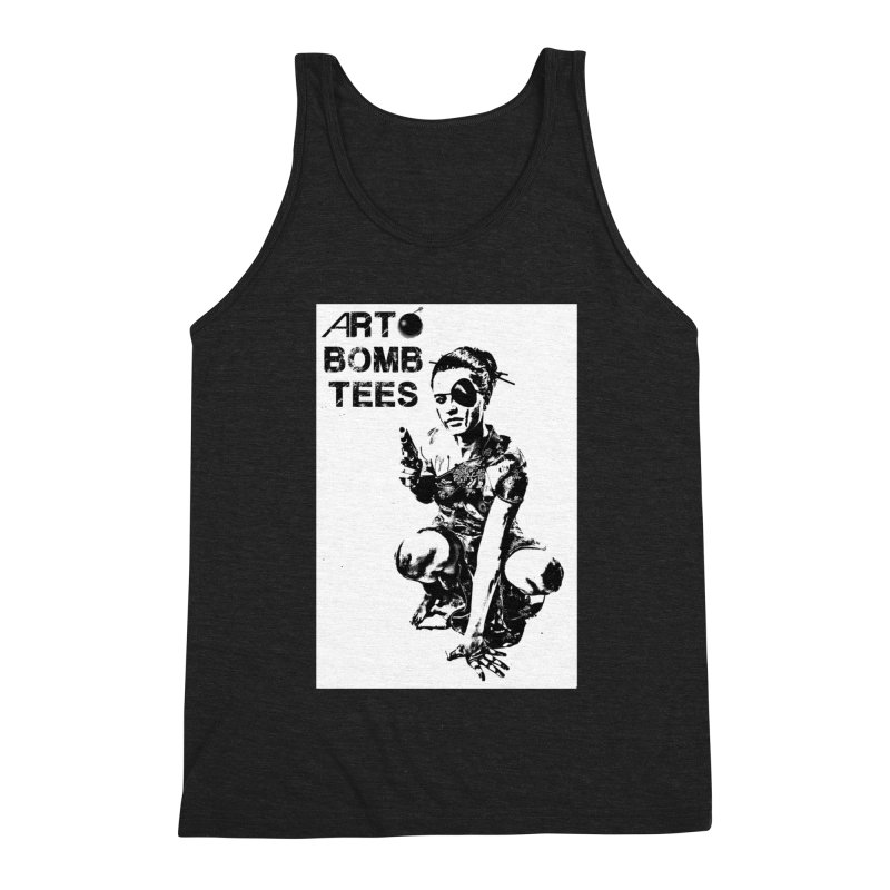 Army of One Men's Triblend Tank by artbombtees's Artist Shop