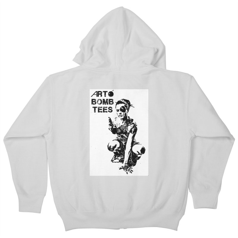 Army of One Kids Zip-Up Hoody by artbombtees's Artist Shop