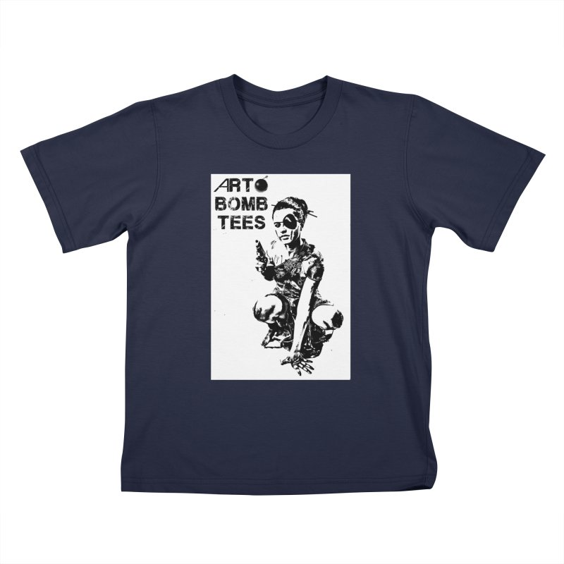 Army of One Kids T-Shirt by artbombtees's Artist Shop
