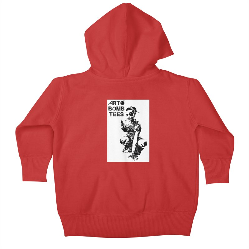 Army of One Kids Baby Zip-Up Hoody by artbombtees's Artist Shop