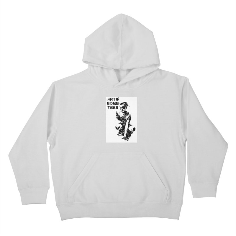Army of One Kids Pullover Hoody by artbombtees's Artist Shop