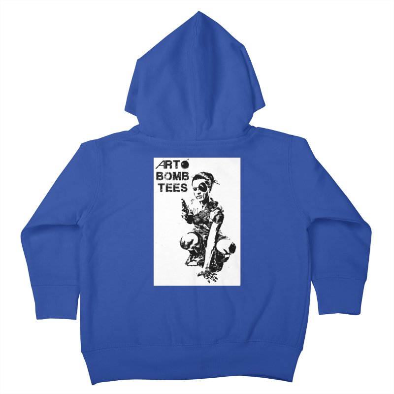 Army of One Kids Toddler Zip-Up Hoody by artbombtees's Artist Shop