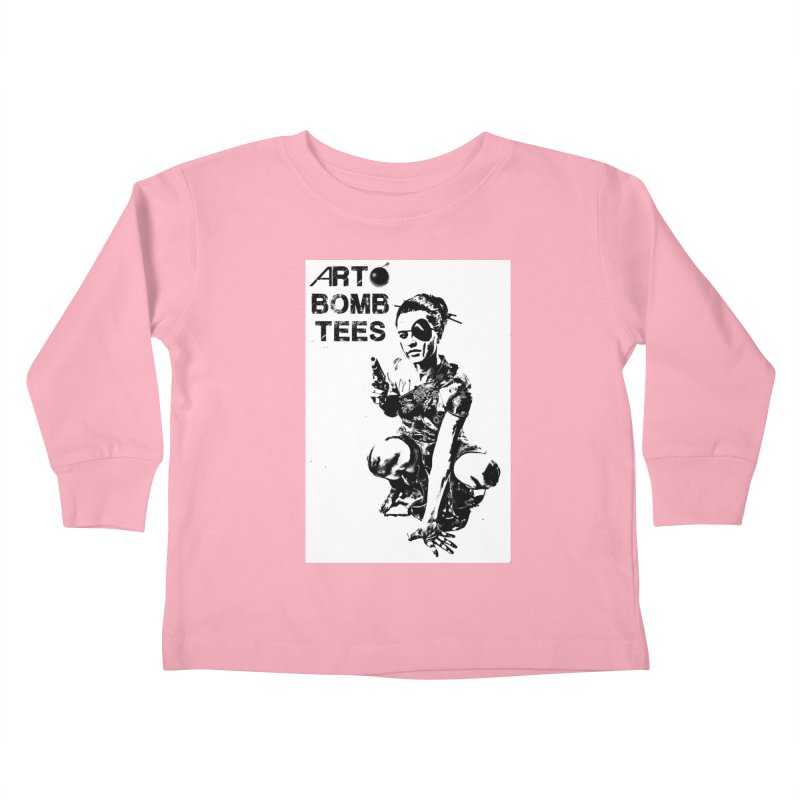 Army of One Kids Toddler Longsleeve T-Shirt by artbombtees's Artist Shop