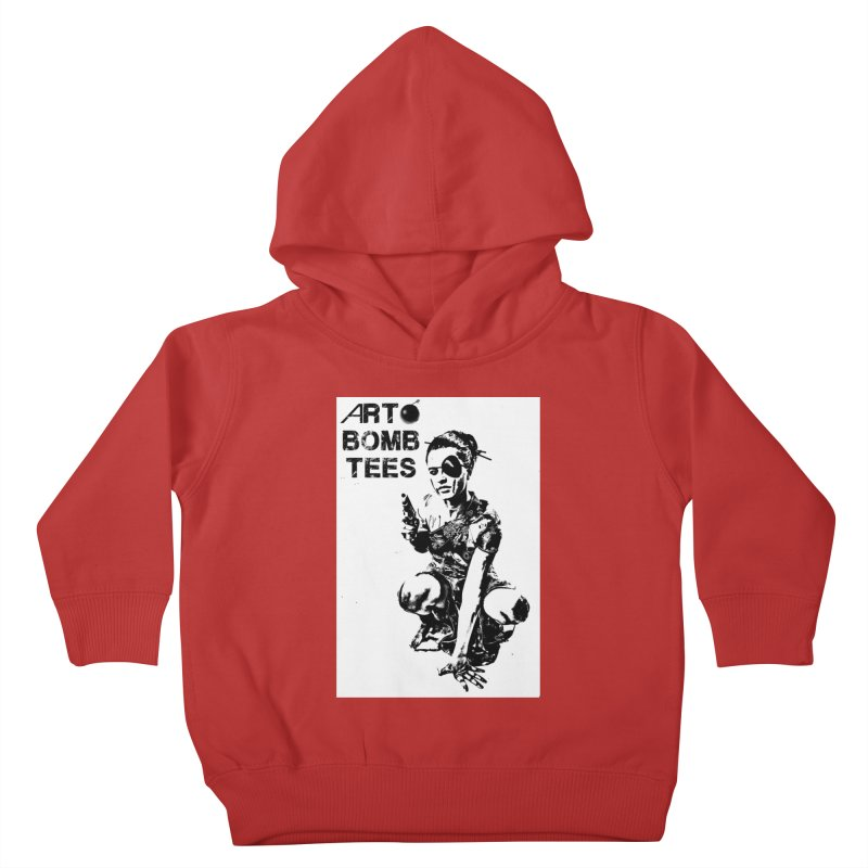 Army of One Kids Toddler Pullover Hoody by artbombtees's Artist Shop