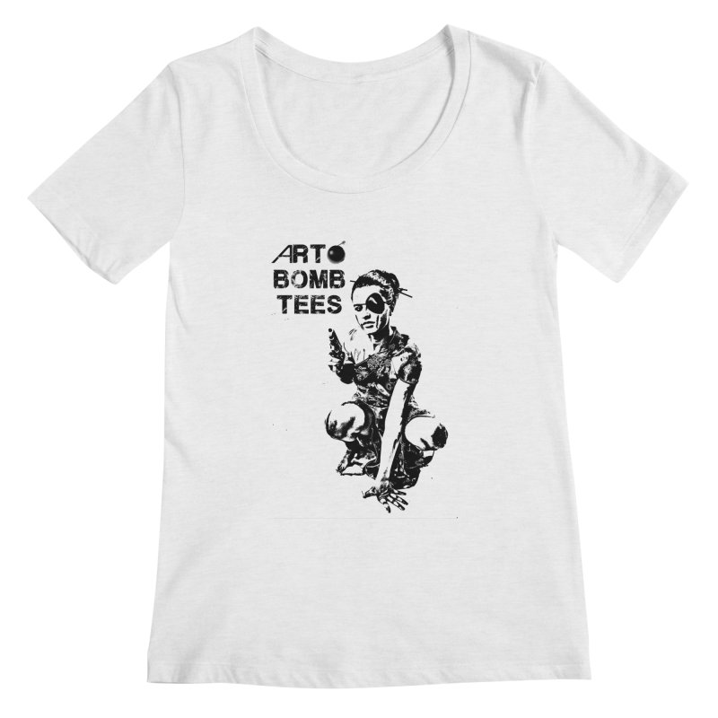 Army of One Women's Regular Scoop Neck by artbombtees's Artist Shop