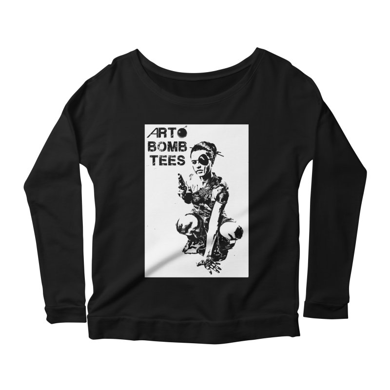 Army of One Women's Longsleeve T-Shirt by artbombtees's Artist Shop