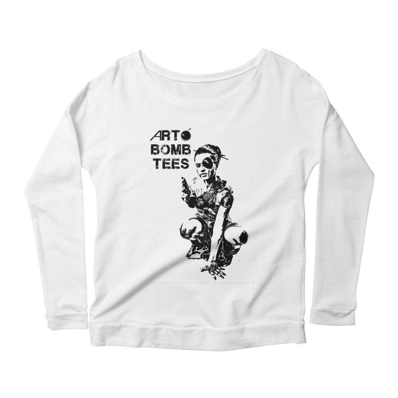 Army of One Women's Longsleeve T-Shirt by artbombtees's Artist Shop