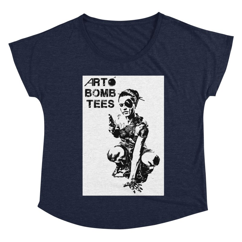Army of One Women's Scoop Neck by artbombtees's Artist Shop