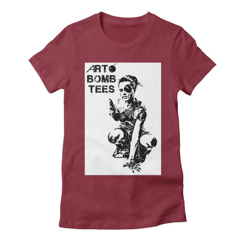 Army of One Women's Fitted T-Shirt by artbombtees's Artist Shop