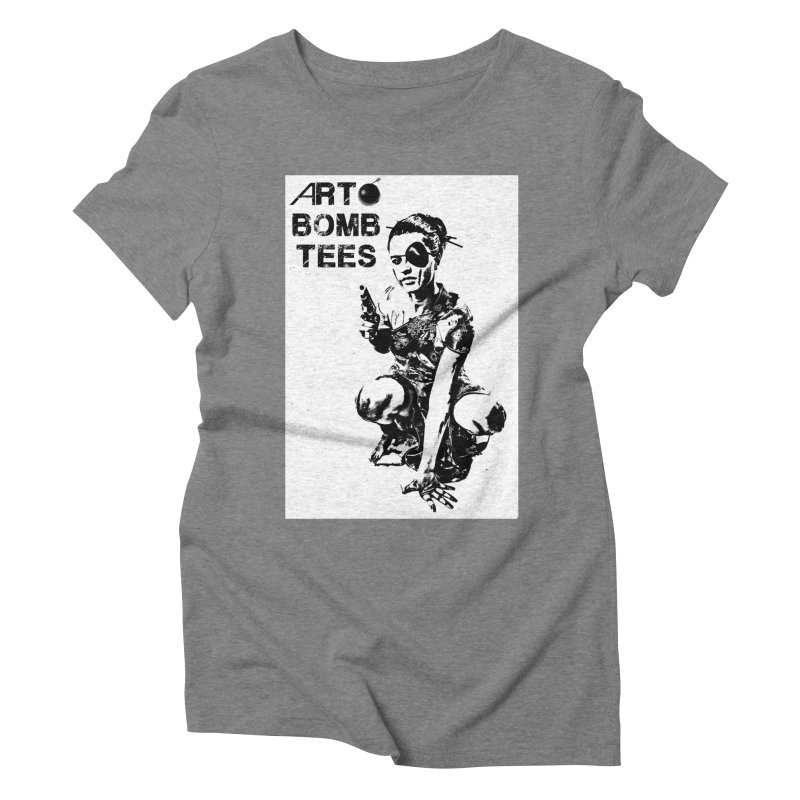 Army of One Women's Triblend T-Shirt by artbombtees's Artist Shop
