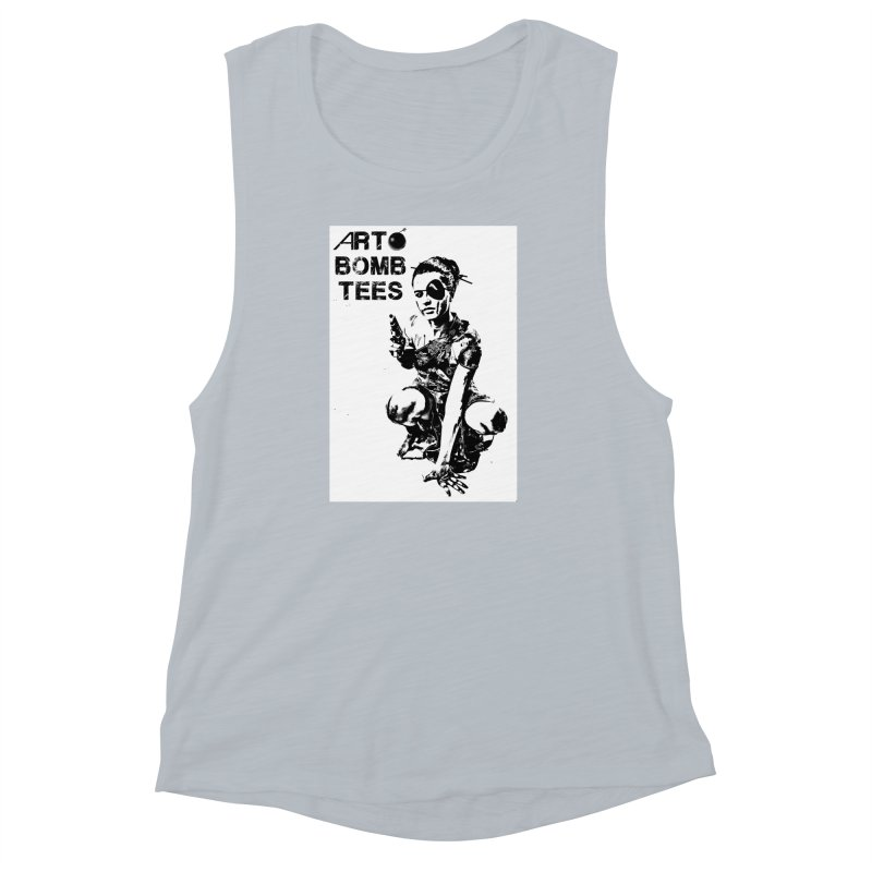 Army of One Women's Muscle Tank by artbombtees's Artist Shop