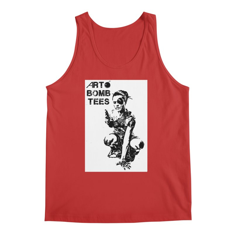 Army of One Men's Regular Tank by artbombtees's Artist Shop