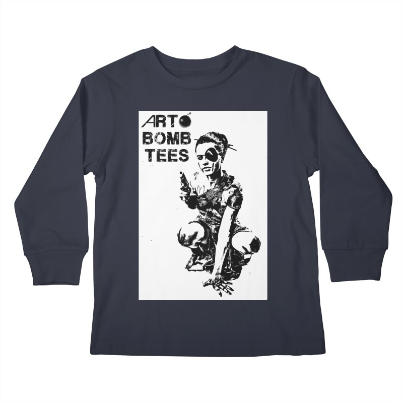 Army of One Kids Longsleeve T-Shirt by artbombtees's Artist Shop