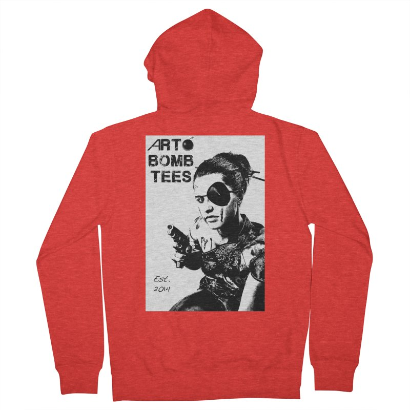 Army of One Part 2 Women's Zip-Up Hoody by artbombtees's Artist Shop