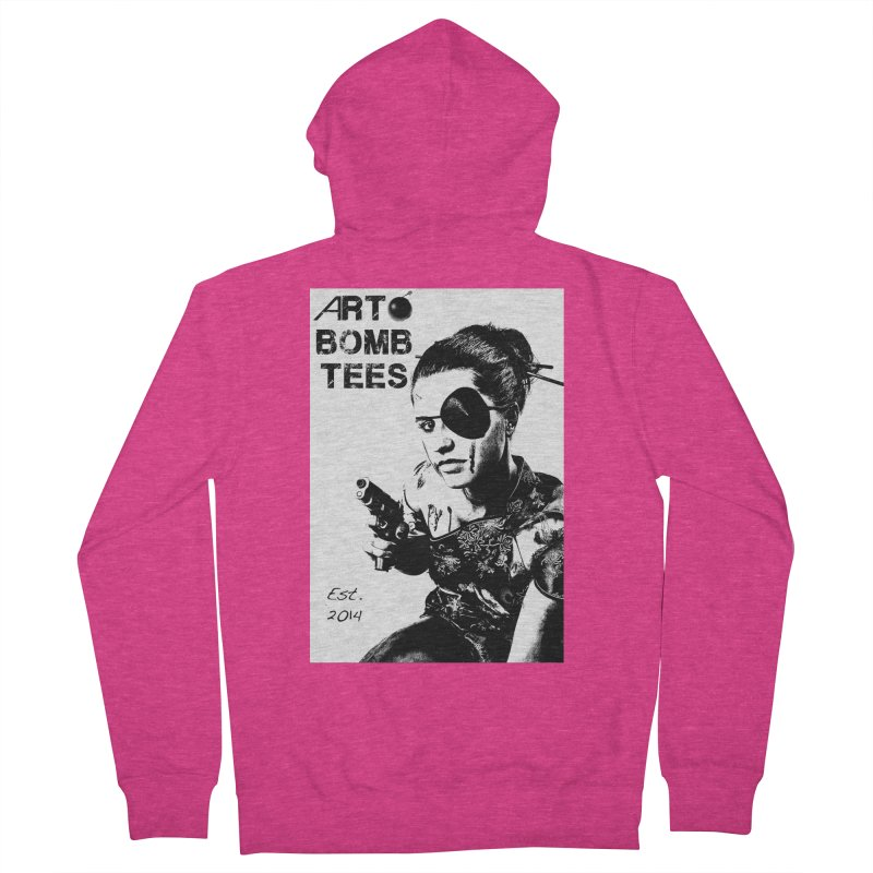 Army of One Part 2 Women's French Terry Zip-Up Hoody by artbombtees's Artist Shop