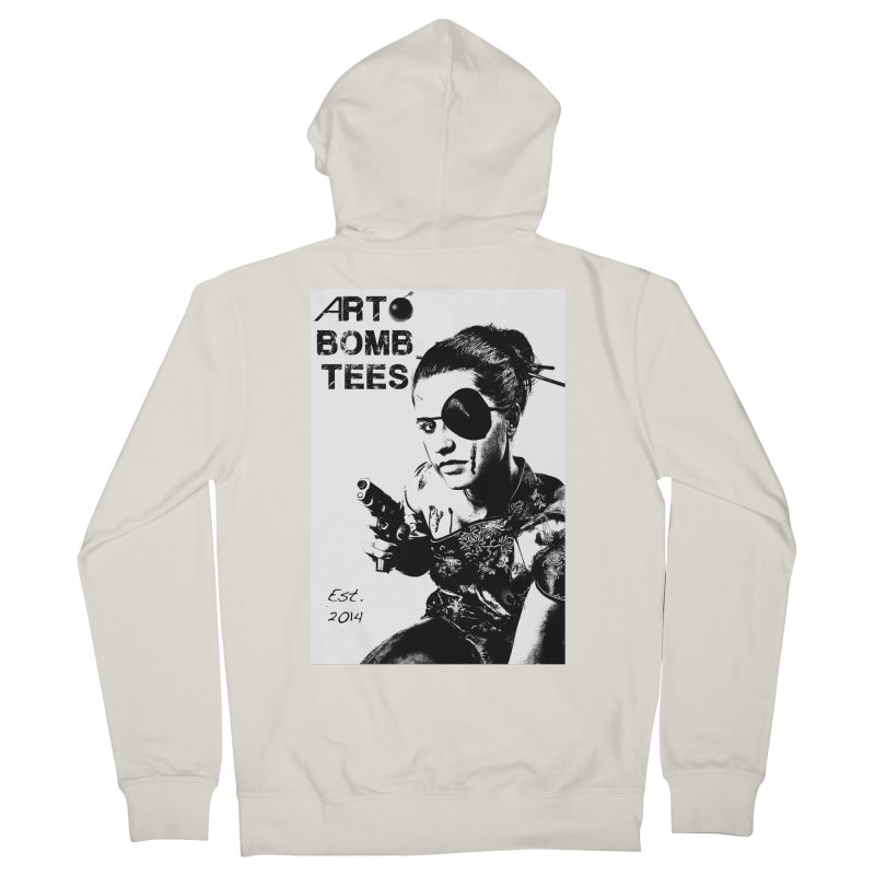 Army of One Part 2 Men's French Terry Zip-Up Hoody by artbombtees's Artist Shop