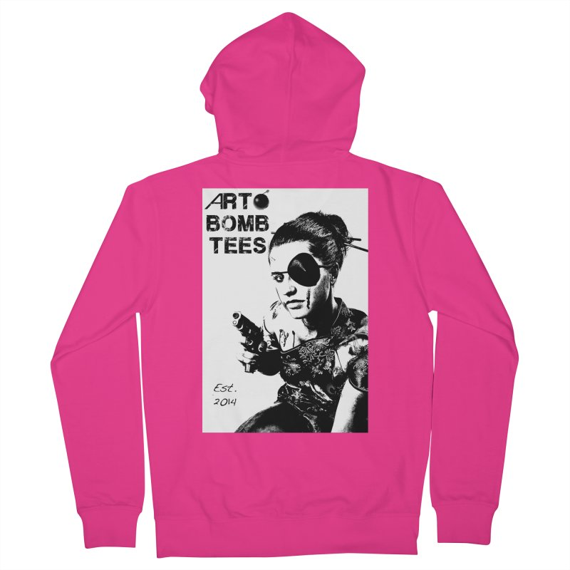 Army of One Part 2 Men's Zip-Up Hoody by artbombtees's Artist Shop