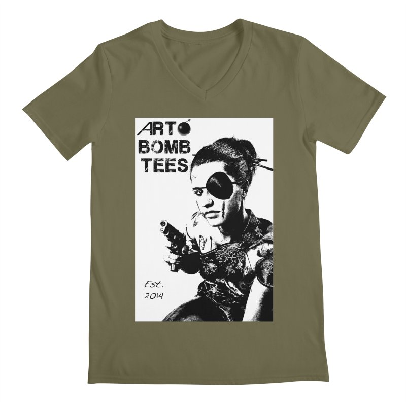 Army of One Part 2 Men's V-Neck by artbombtees's Artist Shop