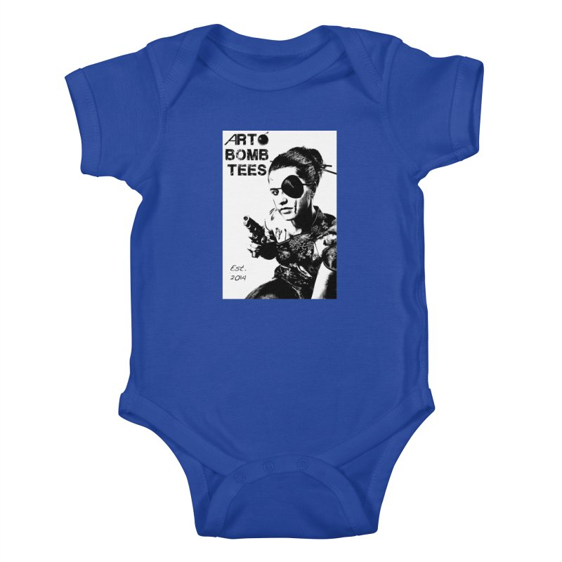 Army of One Part 2 Kids Baby Bodysuit by artbombtees's Artist Shop