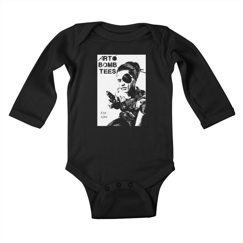 Army of One Part 2 Kids Baby Longsleeve Bodysuit by artbombtees's Artist Shop
