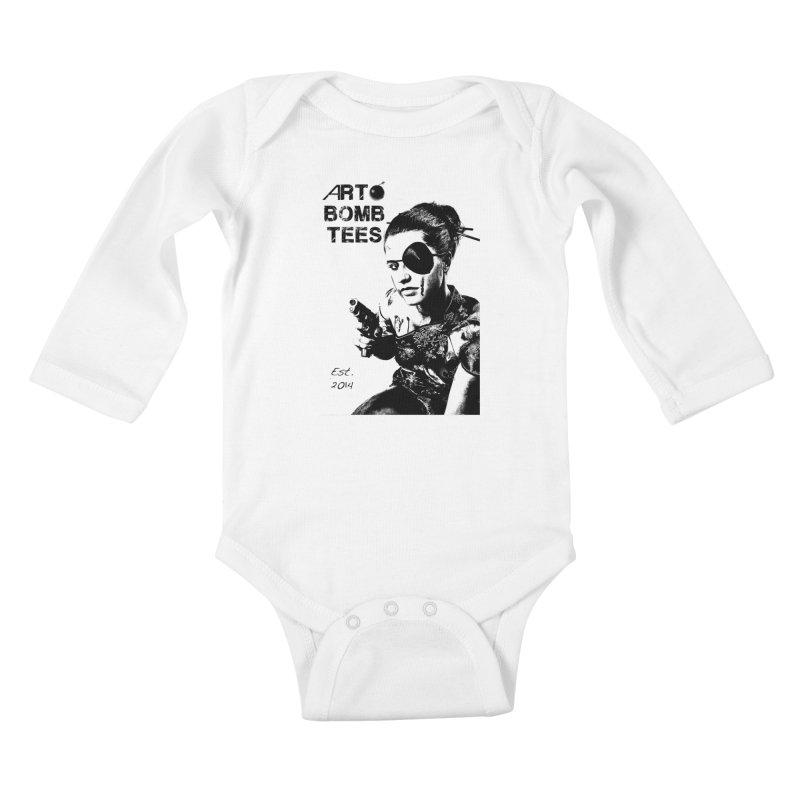 Army of One Part 2 Kids Baby Longsleeve Bodysuit by artbombtees's Artist Shop