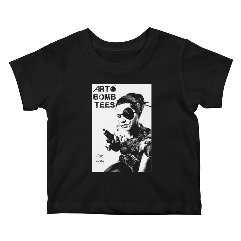 Army of One Part 2 Kids Baby T-Shirt by artbombtees's Artist Shop