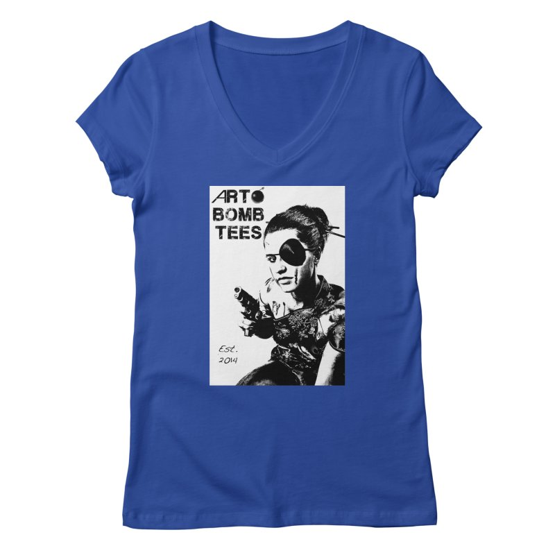 Army of One Part 2 Women's V-Neck by artbombtees's Artist Shop