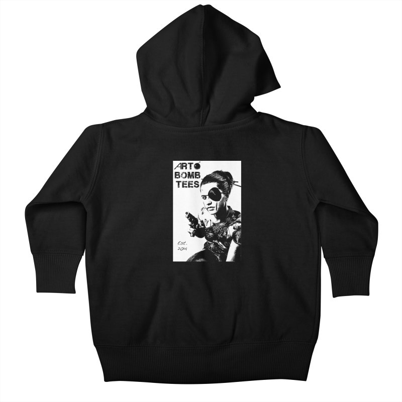 Army of One Part 2 Kids Baby Zip-Up Hoody by artbombtees's Artist Shop