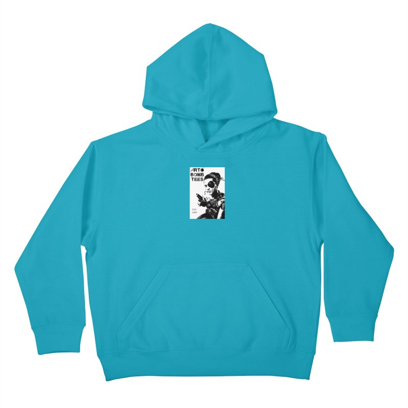 Army of One Part 2 Kids Pullover Hoody by artbombtees's Artist Shop