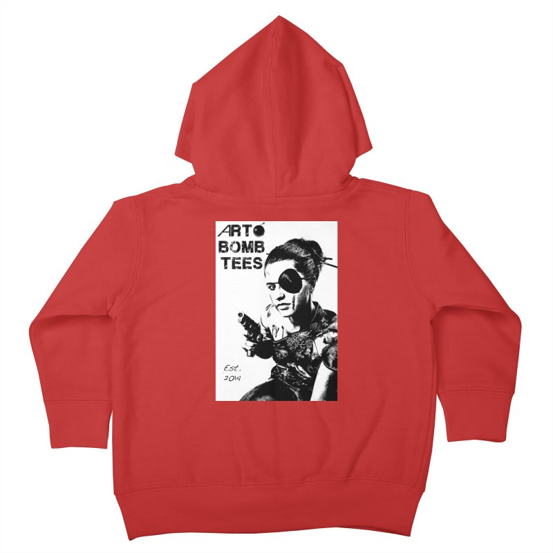 Army of One Part 2 Kids Toddler Zip-Up Hoody by artbombtees's Artist Shop