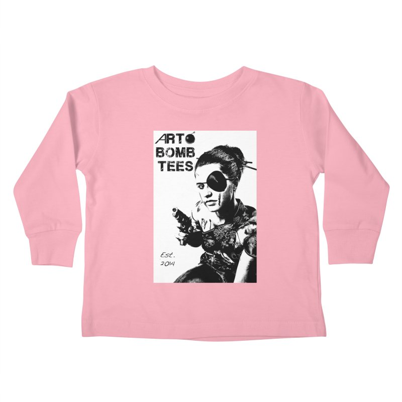 Army of One Part 2 Kids Toddler Longsleeve T-Shirt by artbombtees's Artist Shop