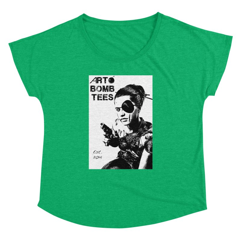 Army of One Part 2 Women's Dolman Scoop Neck by artbombtees's Artist Shop