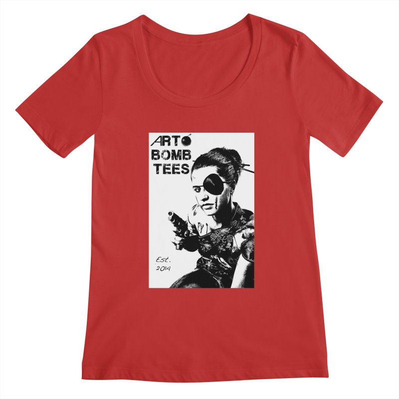Army of One Part 2 Women's Regular Scoop Neck by artbombtees's Artist Shop