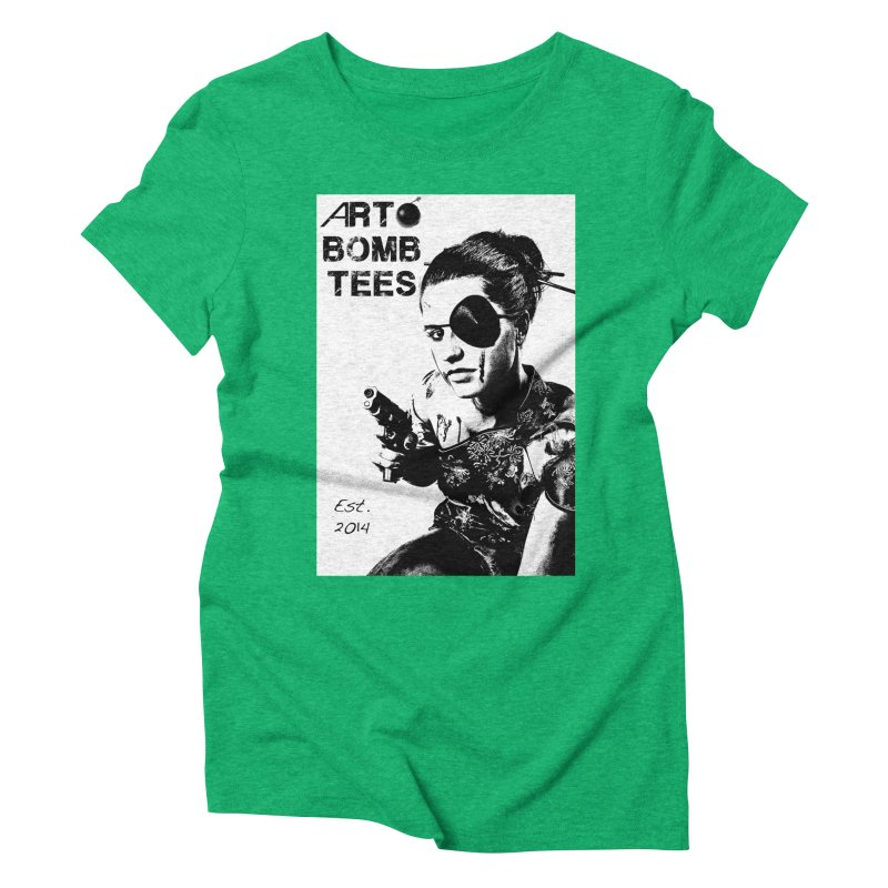 Army of One Part 2 Women's Triblend T-Shirt by artbombtees's Artist Shop
